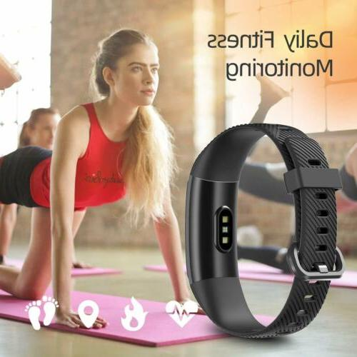 High-End Activity Trackers Health Watch Heart Rate