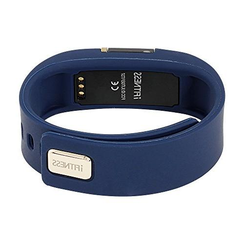 iTouch iFitness Bluetooth Watch with 2 Bands, Modern Calorie Tracker, and Camera