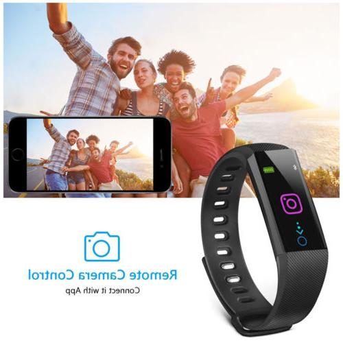 IP67 Bluetooth Smart Fitness Activity Band Calorie