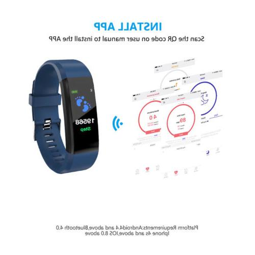 Activity Trackers Watch Wrist Band