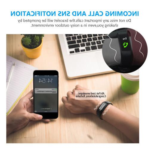 IP67 Bluetooth Activity Watch Band Calorie