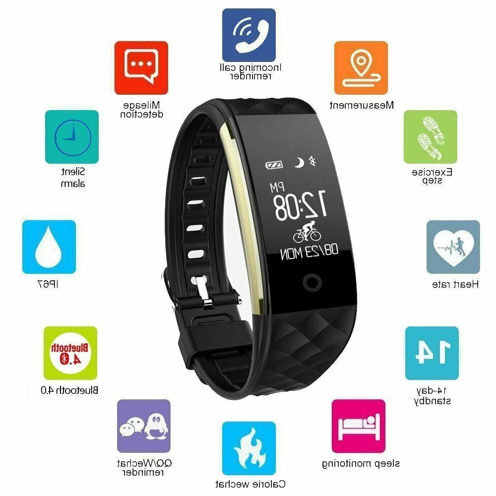 letscom fitness tracker hr activity tracker watch