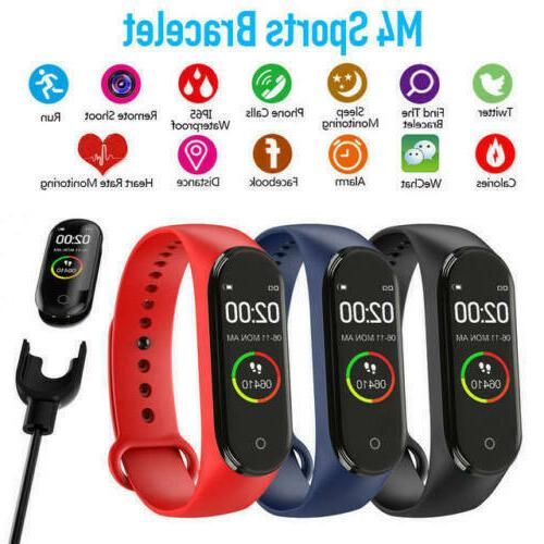 M4 Smart Heart Rate Pressure Monitor Fitness
