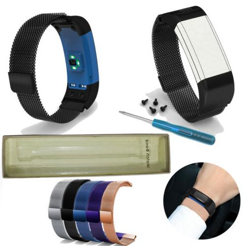 magnetic metal watch band wriststrap for garmin