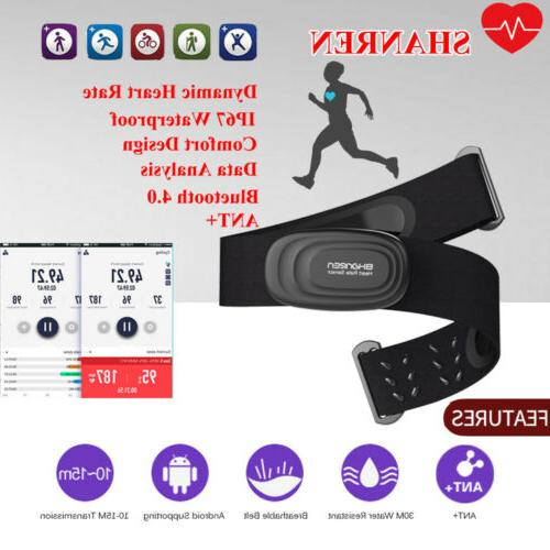 new bluetooth heart rate monitor chest strap