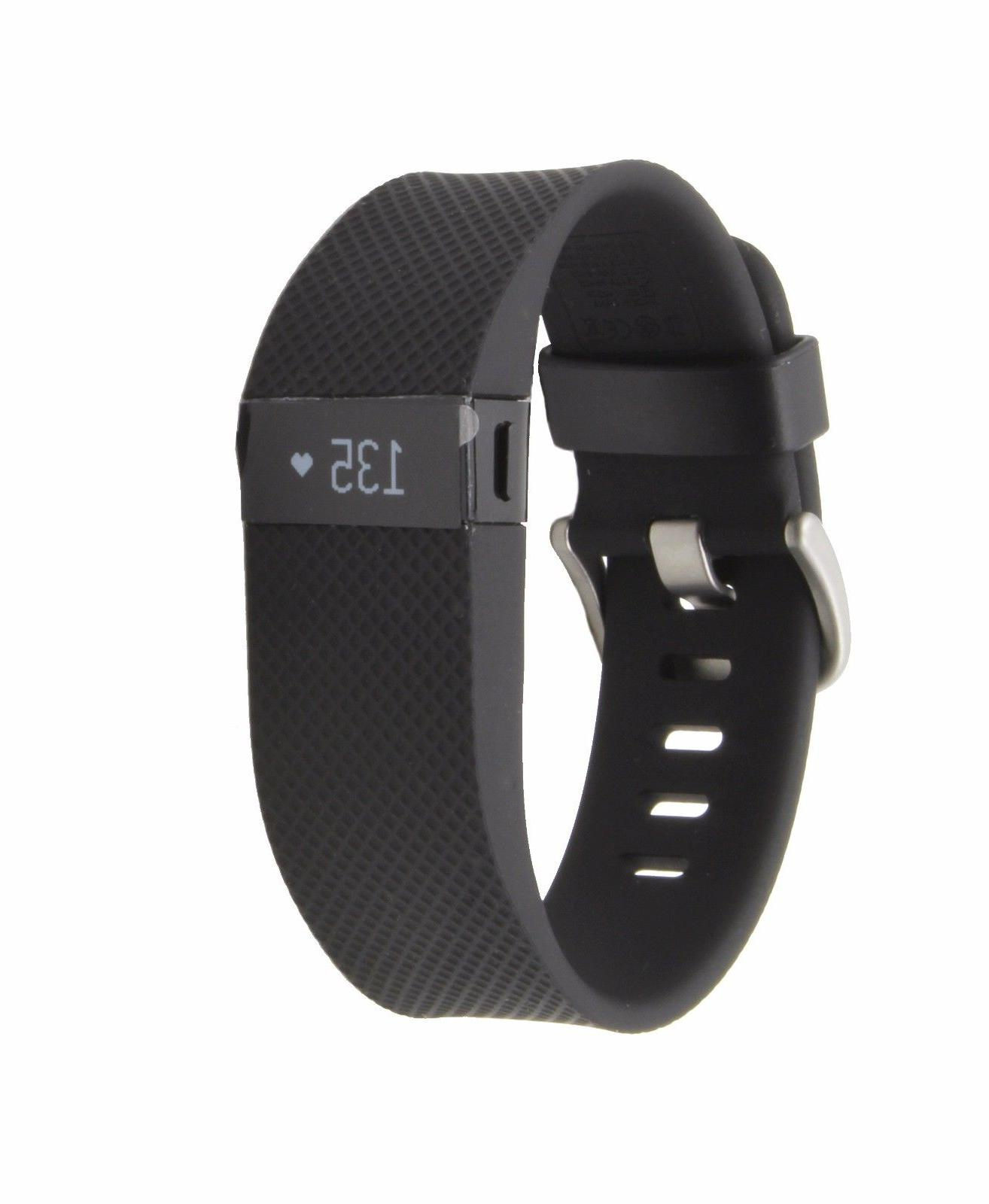NEW Charge HR Wireless Activity & Heart Rate Sleep Wristband Black