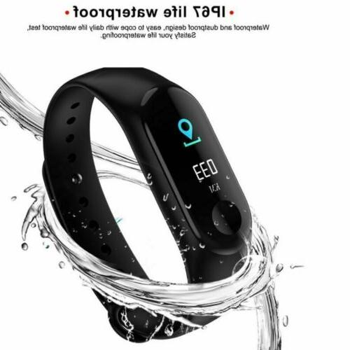 New Tracker Smart Step Counter Fit-Bit Watch