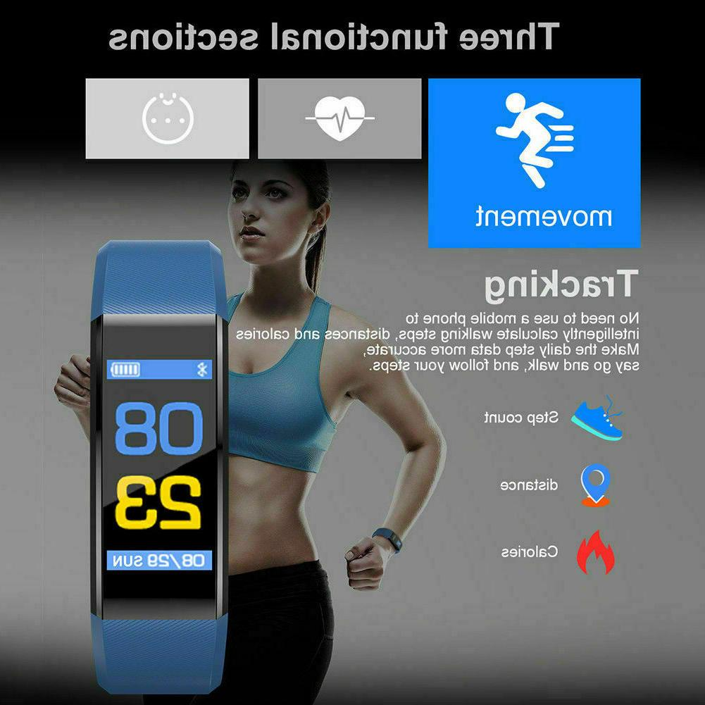 New Fit-bit Style Waterproof Fitness Activity Smart
