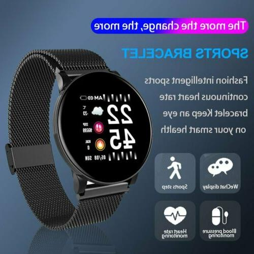 Sport Wristband Bluetooth Watch Rate Blood Pressure Fitness Tracker