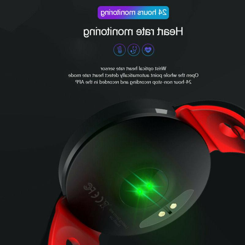 Q8 Bluetooth Smart Heart Rate Oxygen Pressure Tracker