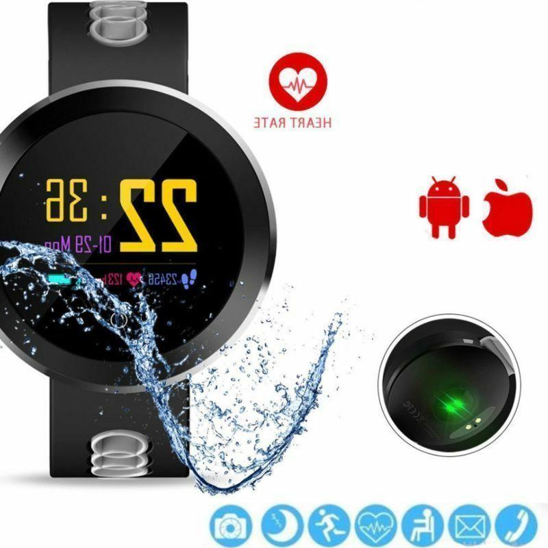 Q8 Bluetooth Smart Heart Rate Pressure Fitness Tracker