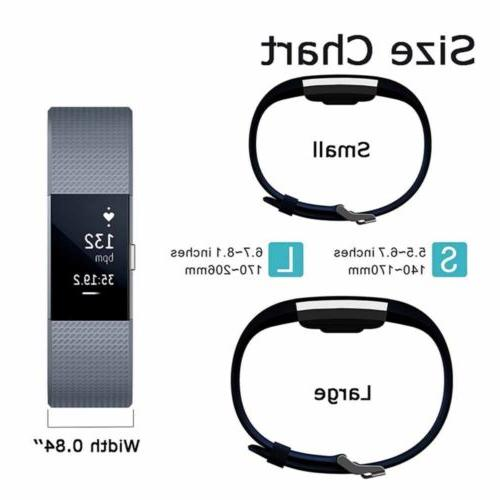 Replacement Wrist Band For Fitbit Charge Fitness Tracker Sport Wristband