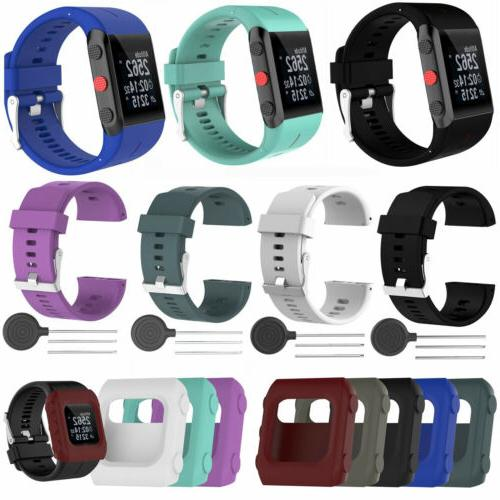 silicone replacement wrist band strap for polar