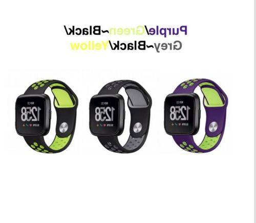 Silicone Band Fitbit Tracker ~ 3 Pack