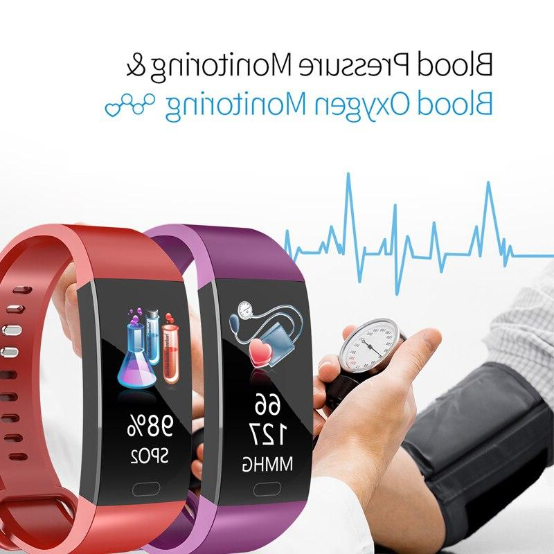 Smart Pressure Clock Cardio Wristband Waterproof Heart Smart