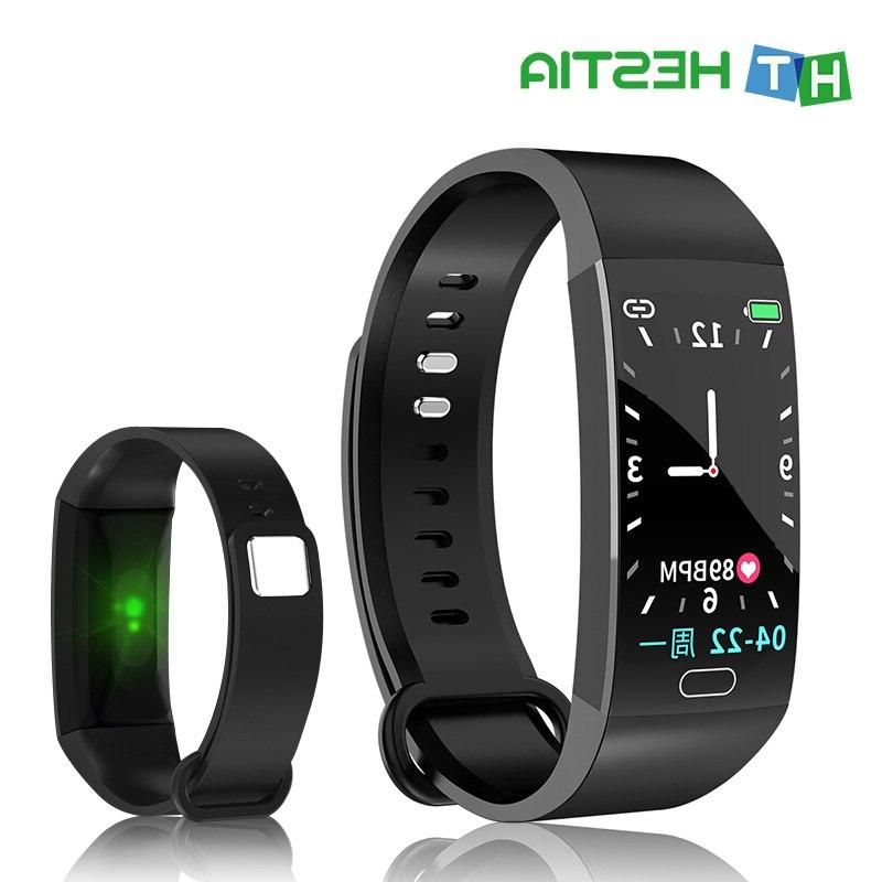 Smart Pressure Clock Wristband Waterproof Heart Rate Smart Watch