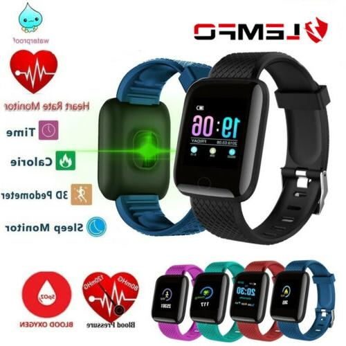 smart watch band fitness tracker heart rate