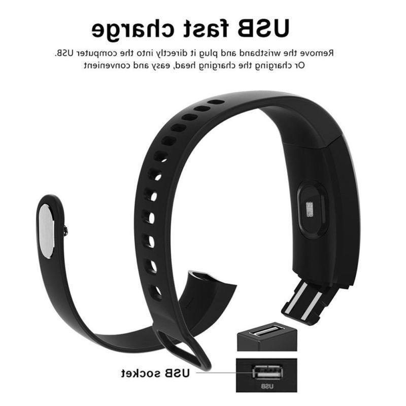 Smart Band Heart Rate Oxygen Blood Pressure Fitness Tracker