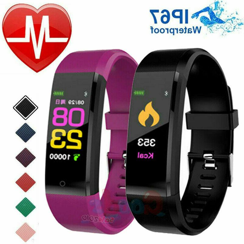 smart watch fit bit waterproof heart rate