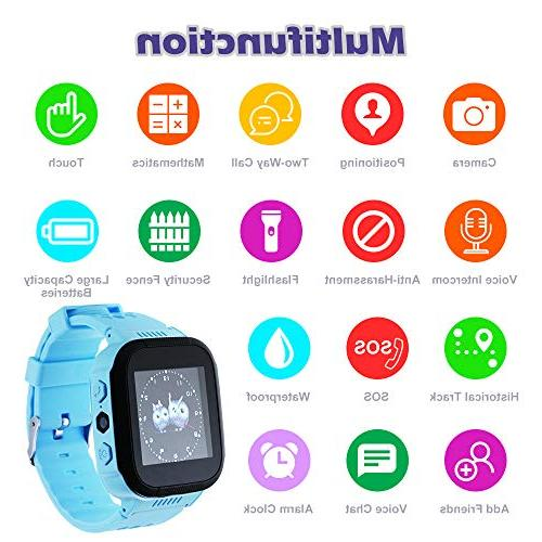 XCSOURCE Watch 1.44in Q90 Remote SOS Location Positioning Activity Tracker Gift BB211