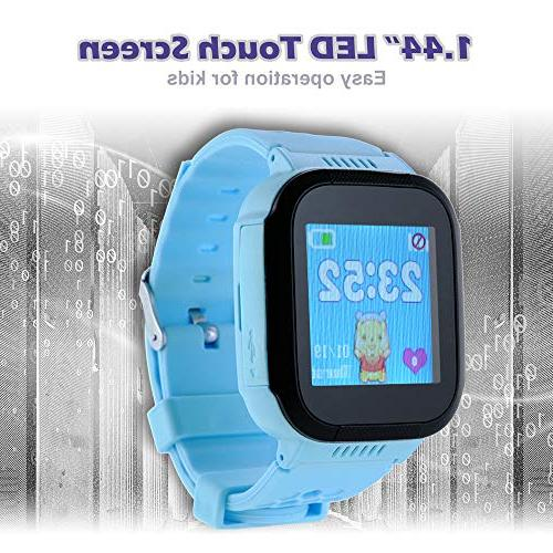 1.44in SOS LBS Location Activity Kids Blue Gift BB211