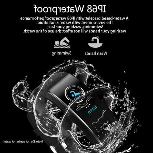 Smart Watch Fitness Activity Heart Rate Blood Pressure