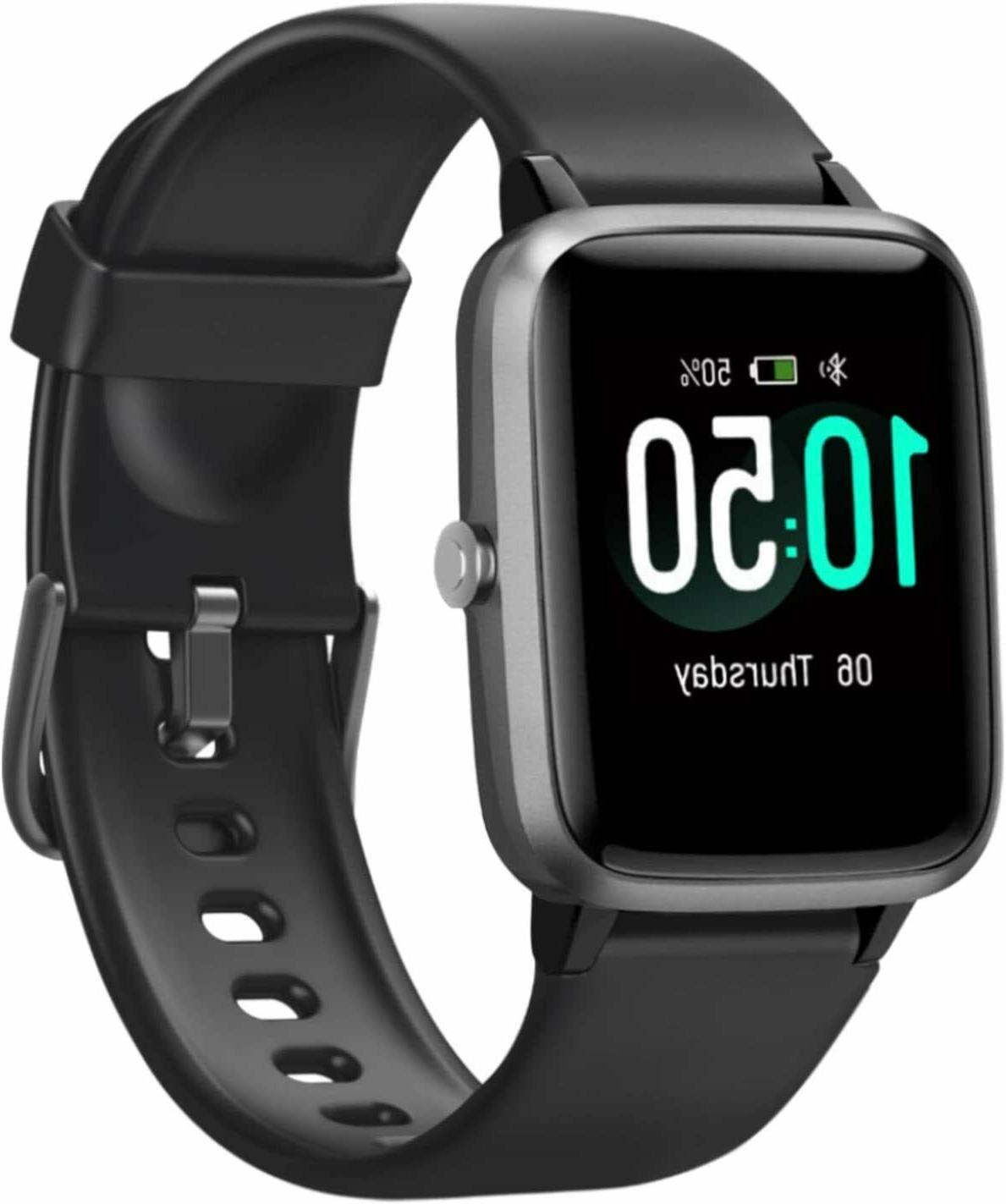 """Letsfit Smart Watch, with Rate Monitor, Activity 1.3"""""""