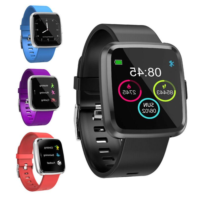 smart watch y7p sports heart rate monitor