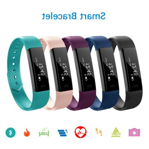 smart wristband heart rate bracelet watch bluetooth