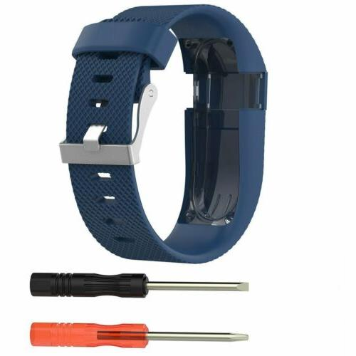 Soft Silicone Wrist Strap Replacement Charge HR Fitness