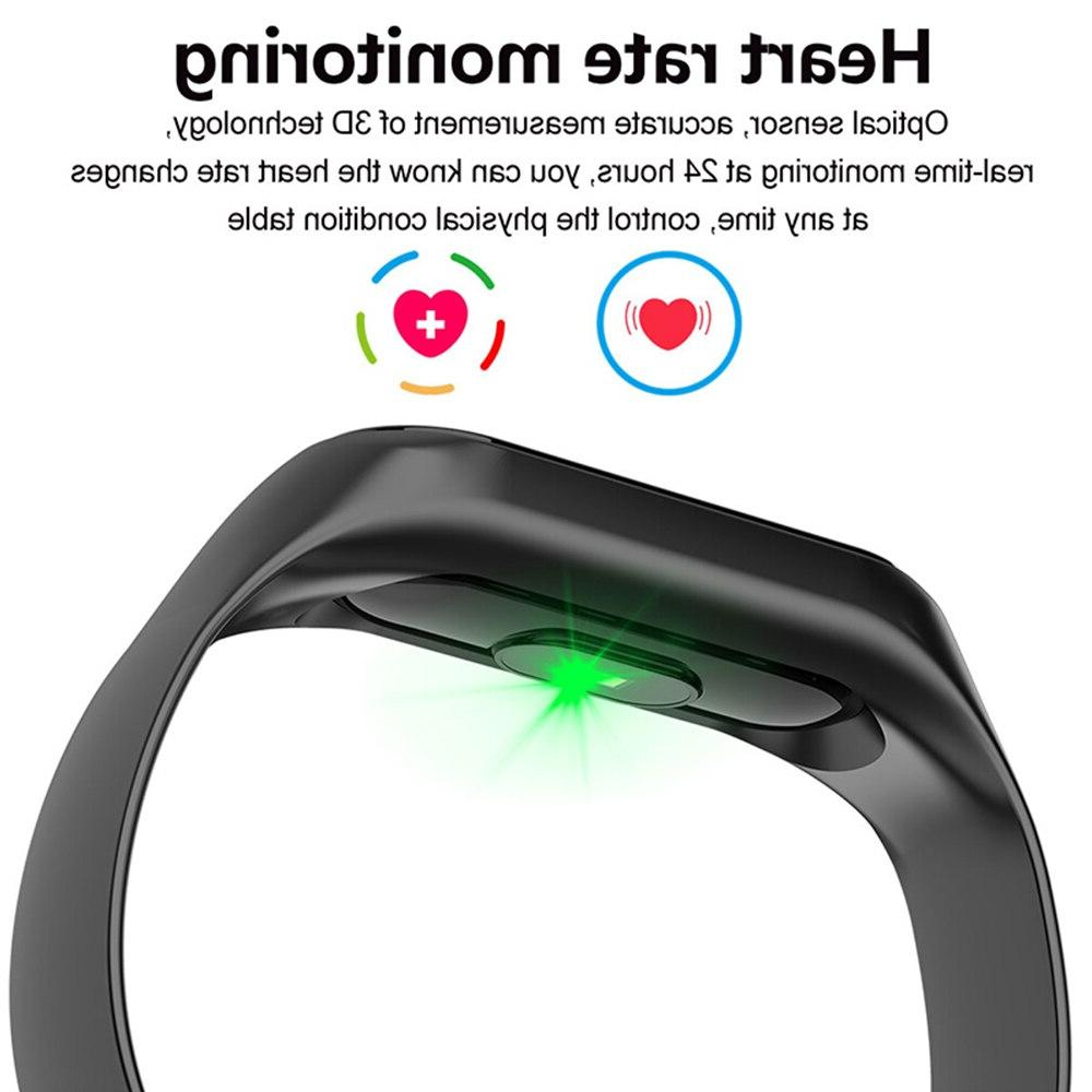 Sport <font><b>Fitness</b></font> <font><b>tracker</b></font> Smartband Smart Bracelet Blood Smart band Wristband For Android iOS