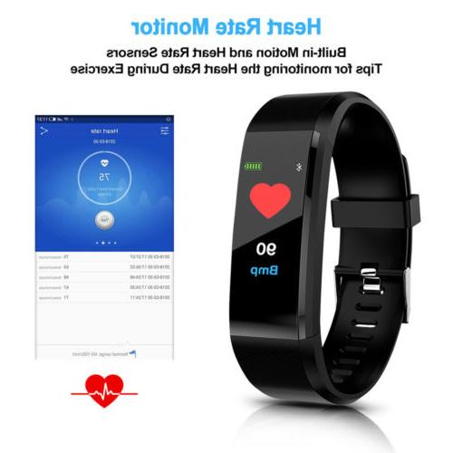 Sport Waterproof Fitness Smart Tracker Wrist Band