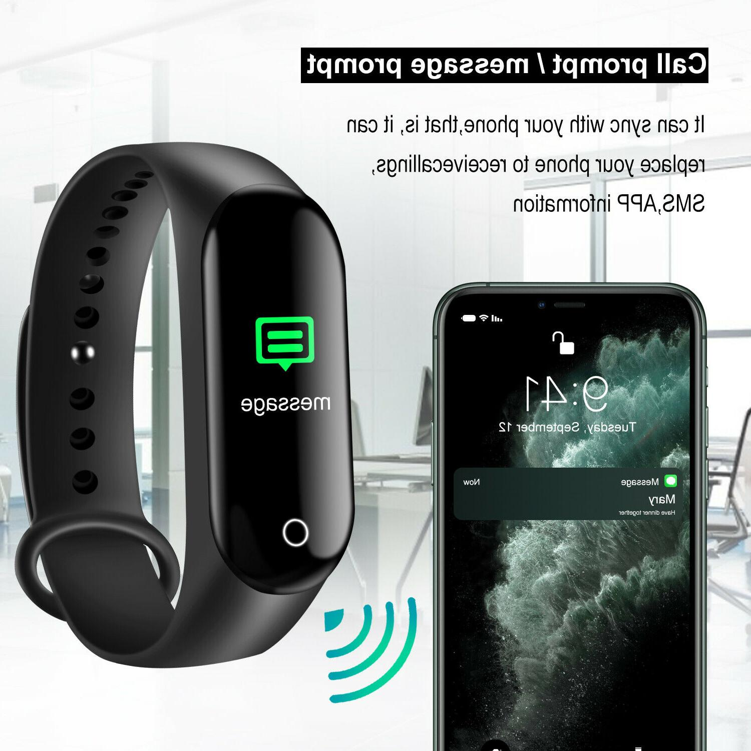 Sport Smart Watch Heart Oxygen Pressure Fitness Tracker