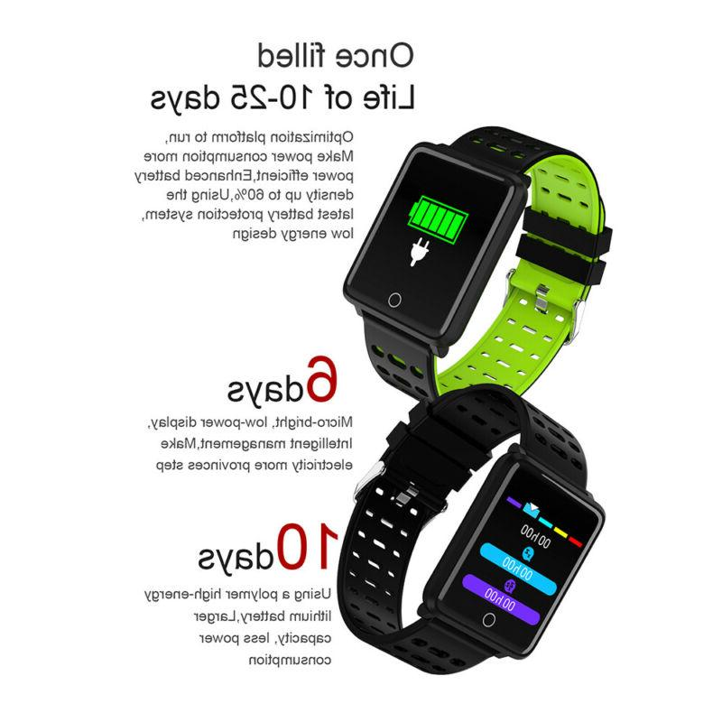 Waterproof Sport Blood Pressure Monitor for iOS Android