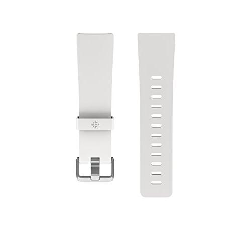 Fitbit Versa Classic Accessory Band, White, Small