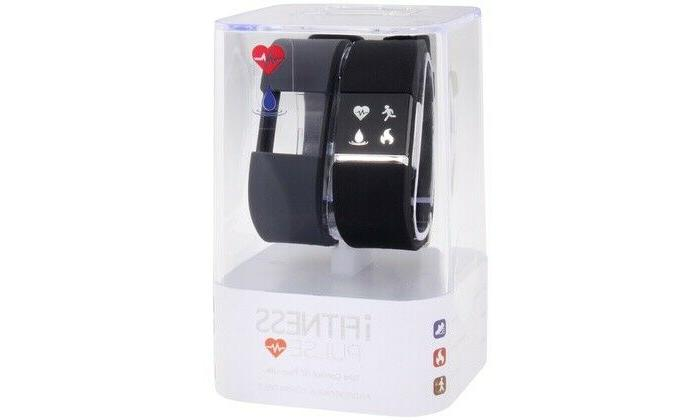 watch set black with blue band