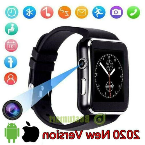 Waterproof Bluetooth Watch W/Cam Phone Mate For iphone IOS