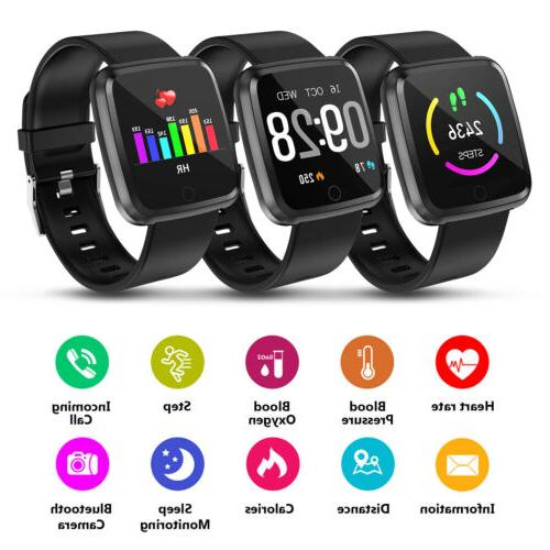 Water Resistant Watch Blood Pressure Heart Rate Monitor