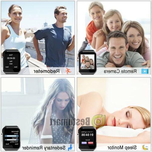 Waterproof Bluetooth W/Cam iphone IOS Android Black