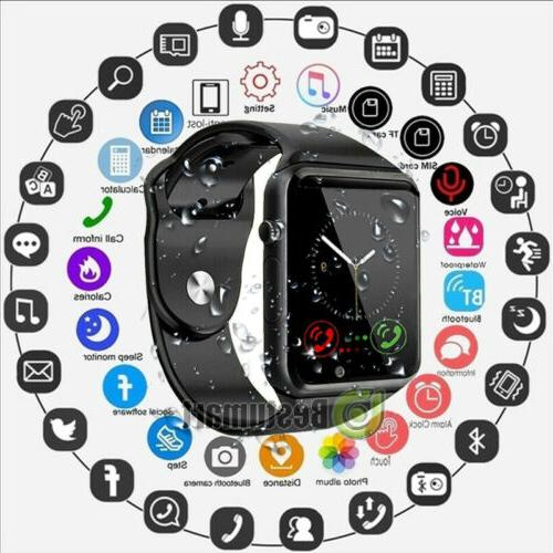 waterproof bluetooth smart watch w cam phone