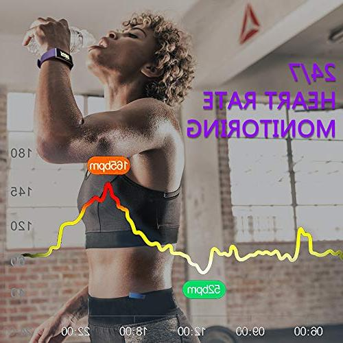 MorePro Activity Tracker Screen, Tracker with Pressure Step Counter Exercise for Women
