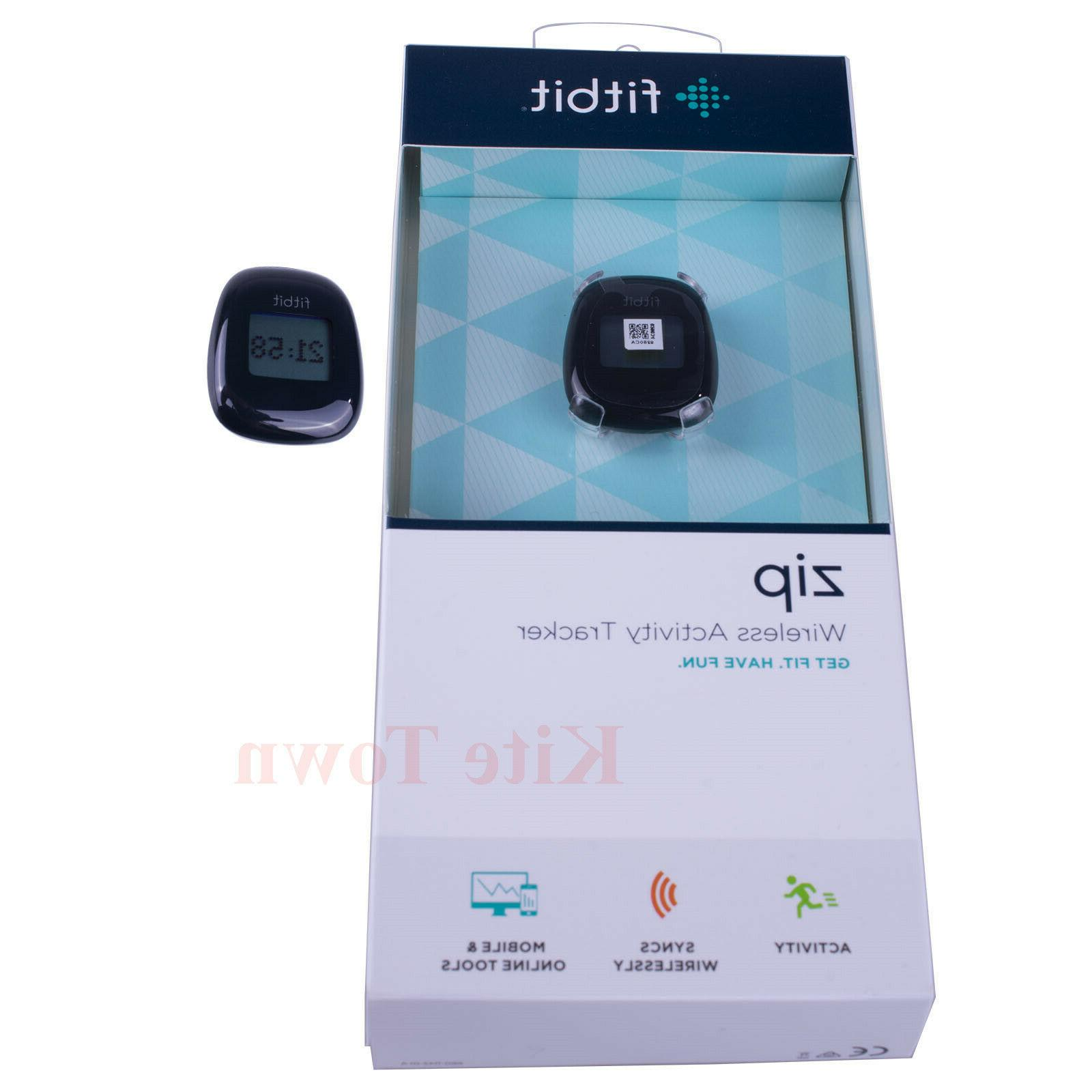 zip wireless activity tracker black and red