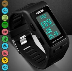 Men Boy Activity Tracker Fitness Calorie Step Counter Pedome