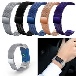 milanese magnetic watch band strap for garmin
