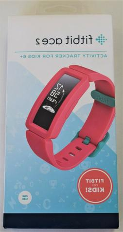 NEW Fitbit Ace 2 Kids Activity Tracker, Watermelon/Teal #FB4