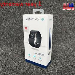 New Fitbit Surge Fitness GPS Super Watch With Heart Rate Mon