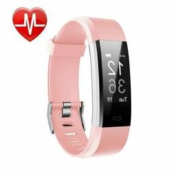 NEW LETSCOM Fitness Tracker HR, Activity Tracker Watch with