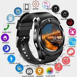 New Waterproof Bluetooth Smart Watch Phone Mate For iOS Andr