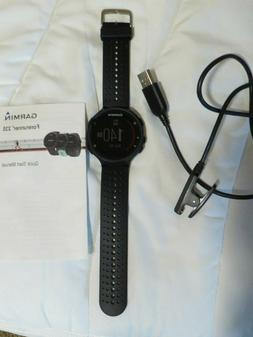 NWOB Garmin Forerunner 235 GPS Running Heart Rate Watch & Ac