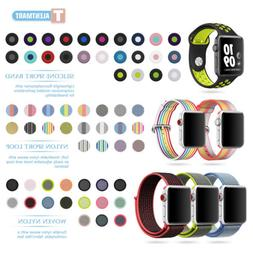 Nylon Silicone Stainless Sport Band Strap Bracelet For Apple